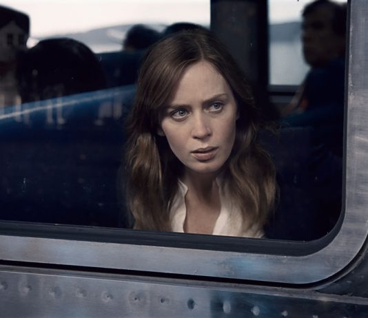 Emily Blunt, Girl on the train