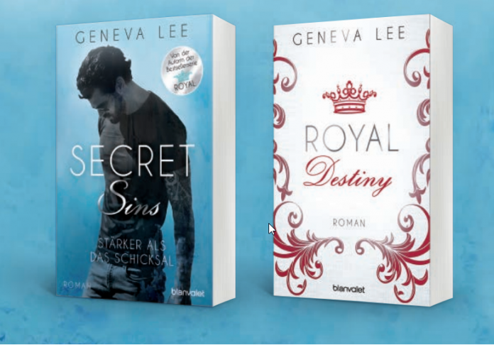 Geneva Lee, Secret Sins, Royal Destiny
